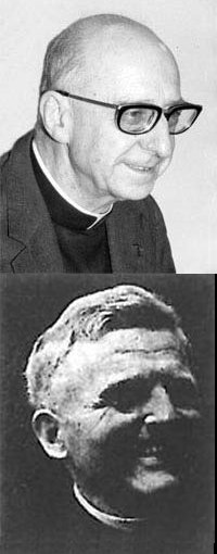 Fathers Lyonnet (top) and Zerwick, two of my professors at the Biblicum.