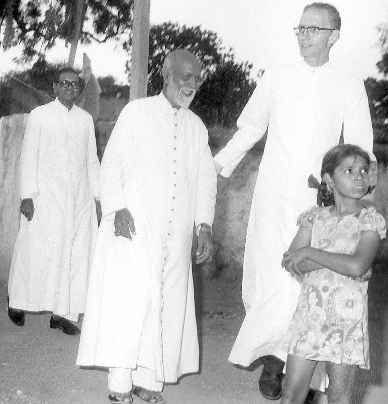 Archbishop Arulappa, Bishop Mummadi and I.
