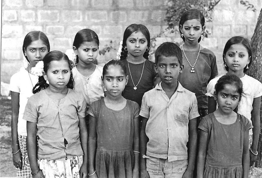 Children from Ramanthapur village near St John's Seminary whom I sent for study in various boarding schools