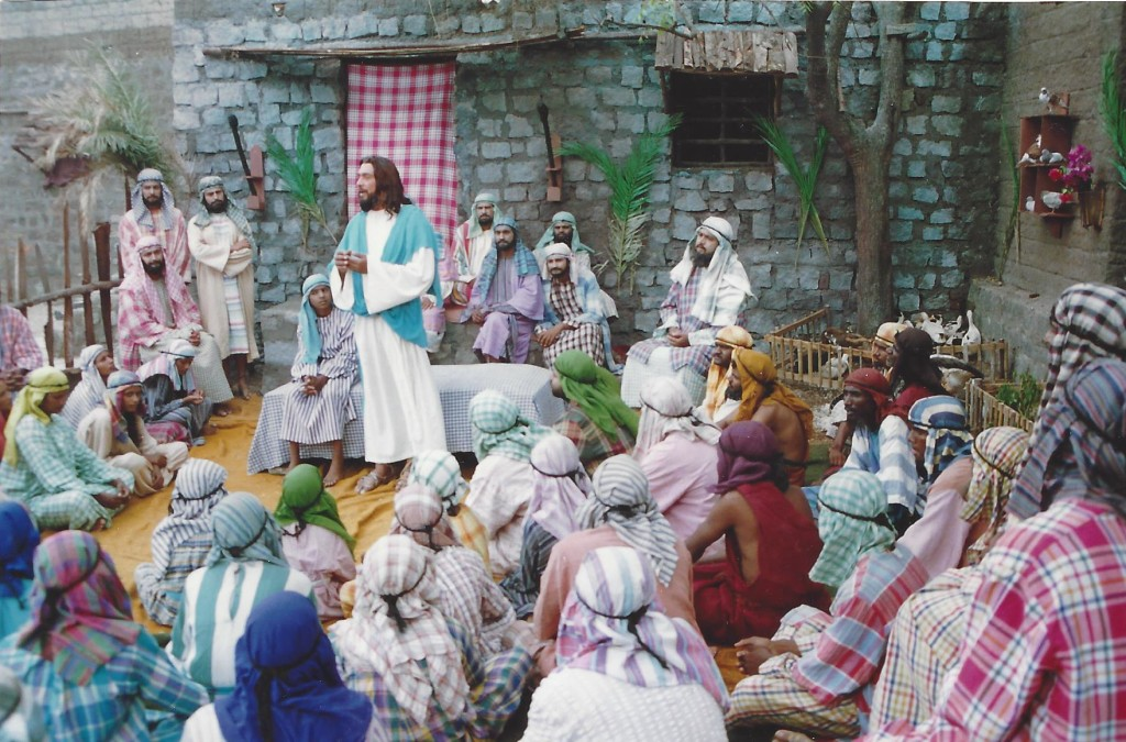 Jesus staying for some days with the Samaritans in Sychar