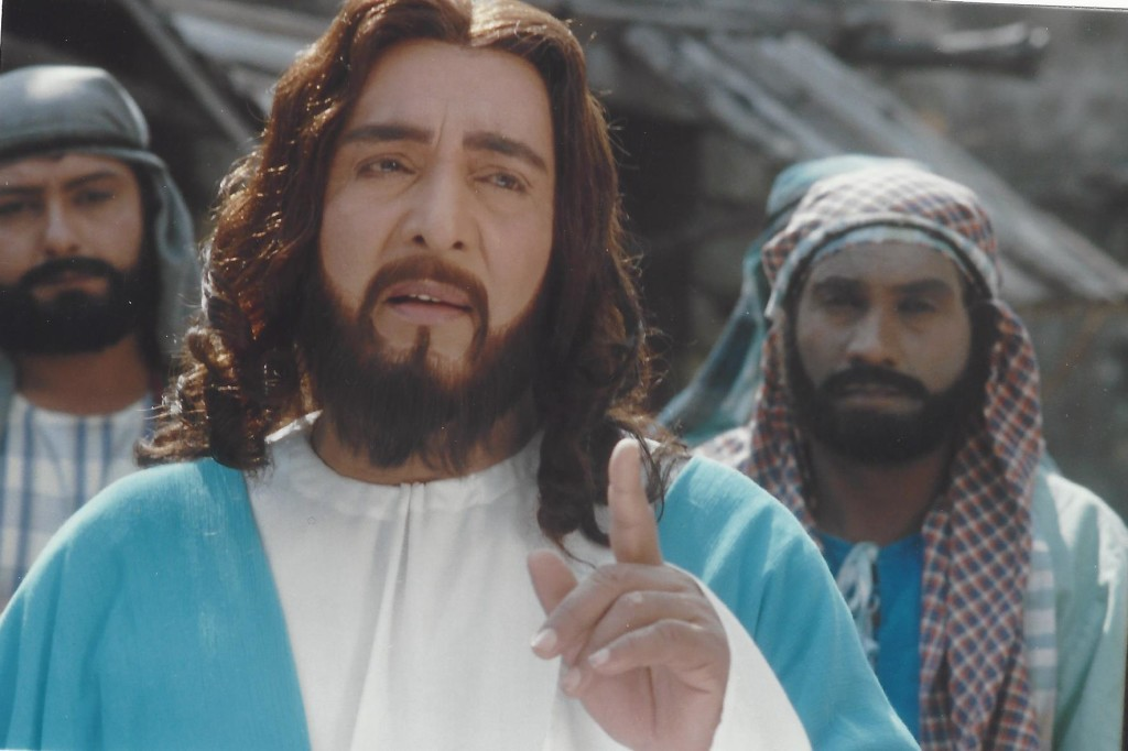 T.Vijayachander acted the part of Christ in Karunamayudu and the TV sequel Daya Sagar