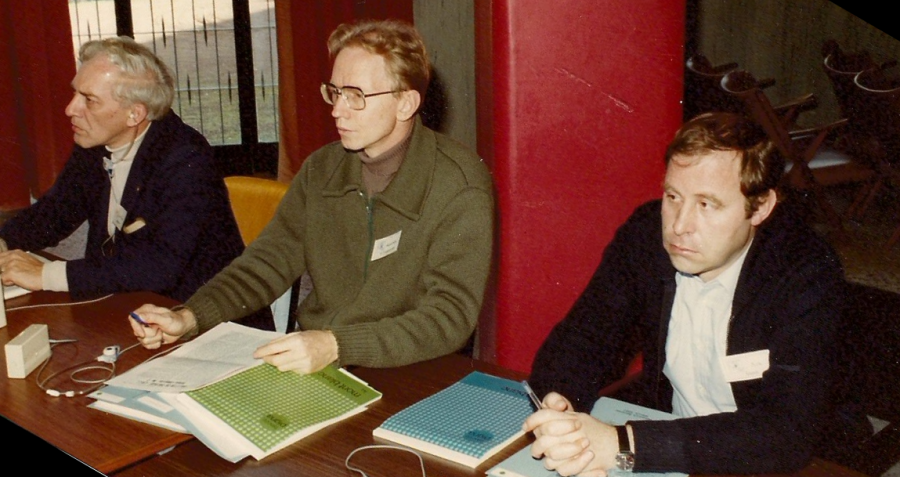 Myself (in the middle) attending a seminar session.